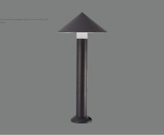 Đèn sân vườn IP65 Exterior cast Aluminum Decorative LED Bollard Light/Outdoor LED lawn Lamp