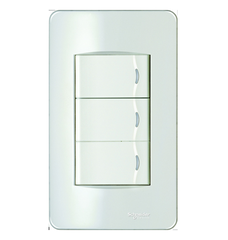 Công tắc Schneider Electric Concept - 3 Gang 1 Way Switch, Standard