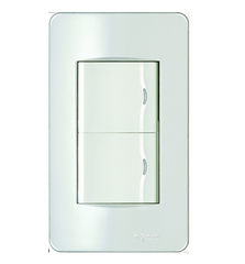 Công tắc Schneider Electric Concept - 2 Gang 1 Way Switch, Medium