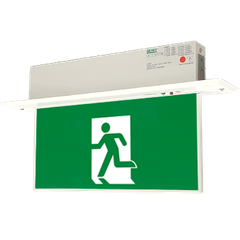 Đèn EXIT LED Slim Emergency Exit Sign EmEX 1602M Series
