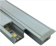 LED Aluminum Profile Recessed Mounted L*W23.4*H14.66mm