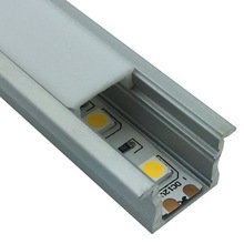 LED ALUMINUM PROFILE RECESSED MOUNTED Inground L*W23.4*H14.66mm