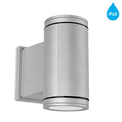 Đèn tường Leds C4 'Afrodita' IP65 G12 70w Up & Down Outdoor Wall Light, Grey - 05-9204-34-B8