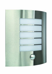 PWL-MH0051 Massive Oslo Outdoor Wall Light Stainless Steel