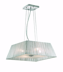 Ideal Lux MISSOURI SP4 ARGENTO