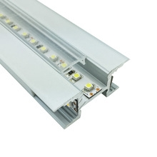 LED ALUMINUM PROFILE SURFACE MOUNTED new design profiles aluminum for led strips wall LED profile led light channel