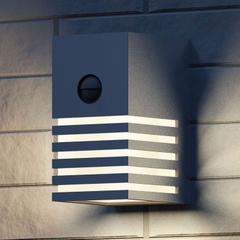 PWL-MH0053 Philips myGarden Veranda Wall Light Stainless Steel