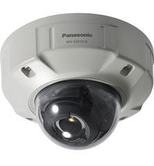 WV-S2511LN Super Dynamic HD Vandal Resistant & Weatherproof Dome Network Camera