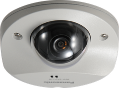 WV-SFV110 Super Dynamic HD Vandal Resistant Dome Network Camera