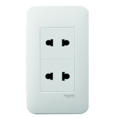 Ổ cắm Schneider Electric S-Flexi - 2 Pin Duplex