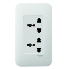 Ổ cắm Schneider Electric S-Flexi - 2 Gang International Socket
