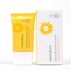 Kem chống nắng Innisfree Perfect UV Protection Cream Long Lasting (For Oily Skin) SPF50+/PA+++