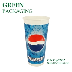 Ly Giấy Cold Cup 22 OZ