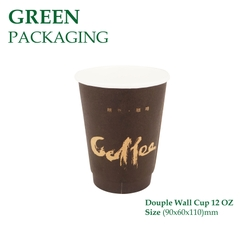 Ly Giấy Douple Wall Cup 12 OZ
