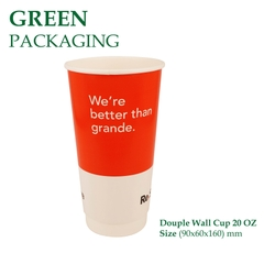 Ly Giấy Douple Wall Cup 20 OZ