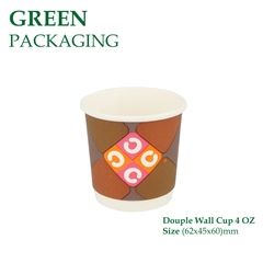 Ly Giấy Douple Wall Cup 4 OZ