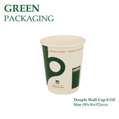 Ly Giấy Douple Wall Cup 8 OZ