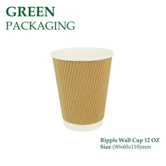 Ly Giấy Ripple Wall Cup 12 OZ