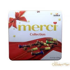 Kẹo SCL Storck Merci Finest Selection 500g