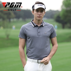 Áo Golf Nam Ngắn Tay - PGM Men Golf Shirt - YF237