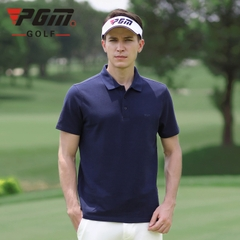 Áo Golf Nam Ngắn Tay - PGM Men Golf Shirt - YF313