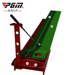 Thảm Tập Putting Golf - PGM Pine Wood Golf Putting Trainer - TL001