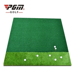 Thảm Tập Swing Golf - PGM Double Grass - DJD006