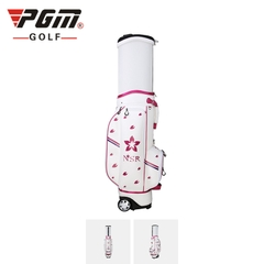 QB056 - Túi gậy golf nữ - Microfiber Flower Printing Golf Bag