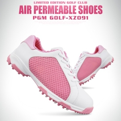 Giày Golf Nữ - PGM Women Air Permeable Golf Shoes -XZ091