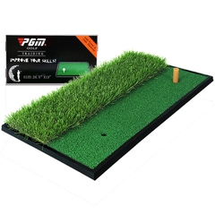 Thảm Tập Swing Golf - PGM Double Grass Mini Hitting Mat - DJD005