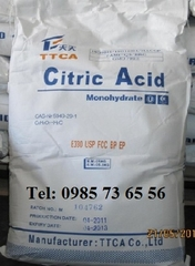 axit citric, axit chanh, Citric Acid, C6H8O7