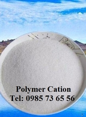 bán Polymer C525H, chất trợ lắng cation, Cationic Polyacrylamide, CPAM