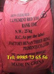 bán Iron Oxide Red Y101, bột oxit sắt màu đỏ Fe2O3, Pigment Red Y101