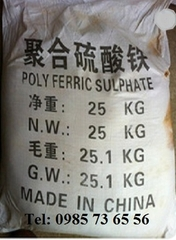 polyme sắt sunphat, Polymeric Ferric Sulfate, Polymeric Iron Sulfate