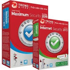 Phần mềm diệt virus Trend Micro Internet Security 2015 1PC