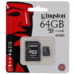 Thẻ nhớ Kingston 64GB Class10