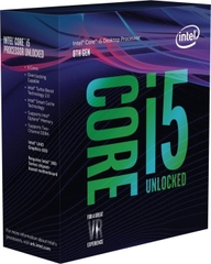 CPU Intel Core i5 8600K 3.6Ghz Turbo Up to 4.3Ghz / 9MB / 6 Cores, 6 Threads / Socket 1151 v2 No Fan (Coffee Lake )