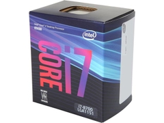 CPU Intel Core i7 8700 3.2Ghz Turbo Up to 4.6Ghz / 12MB / 6 Cores, 12 Threads / Socket 1151 v2 (Coffee Lake )