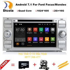 Đầu DVD Androi Android-7.1 cho Ford Focus/Mondeo