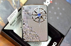 Zippo Armor Luxury Waves High Polish Chrome 7