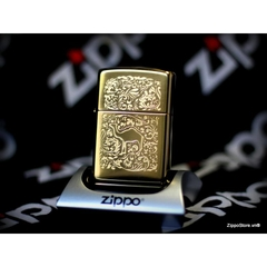 Zippo Camel Gold Plated 22K