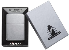 Zippo Replica 1941 Brushed Chrome 4