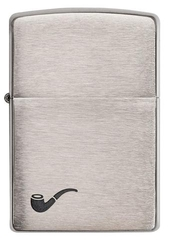 Zippo Brushed Chrome Pipe 1