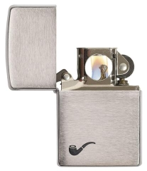 Zippo Brushed Chrome Pipe 2