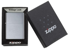 Zippo Vintage Brushed Chrome (No slashes) 5