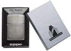 Zippo 1941 Replica Black Ice  (Dark Chrome) 4