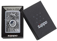 Zippo Joined Forces Emblem Street Chrome 4