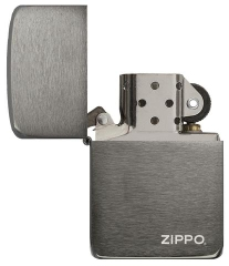 Zippo Replica 1941 Black Ice with Logo 3