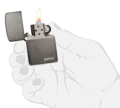 Zippo Replica 1941 Black Ice with Logo 4