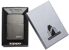 Zippo Replica 1941 Black Ice with Logo 5